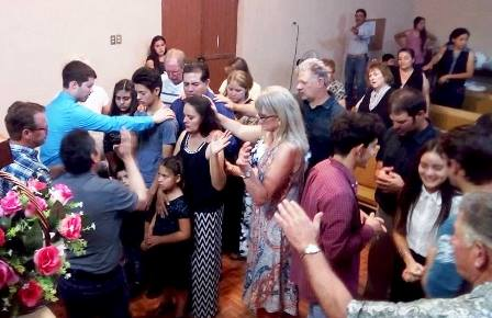 Living Faith Church ministering in Mexico.